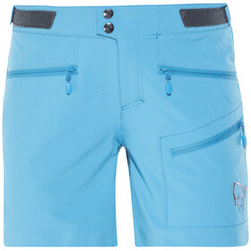 Norrøna W's Falketind Flex1 Shorts Blue Moon